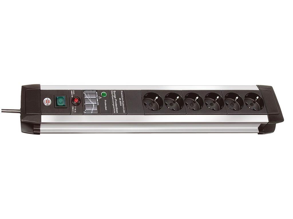 Сетевой фильтр Brennenstuhl Premium-Protect-Line 6 Sockets 3m 1391000607 сетевой фильтр brennenstuhl secure tec 8 sockets 3m 1159490936