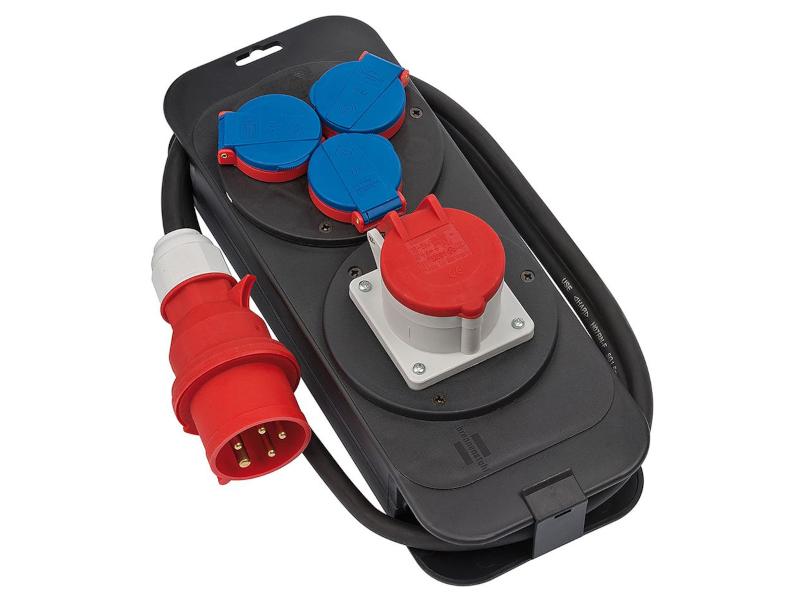 Удлинитель Brennenstuhl CEE1 400V Plug - 1xCEE1 Socket / 3x230V 2.0m 1151600