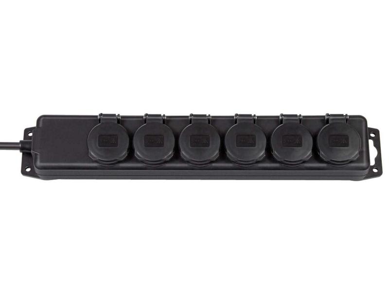 Фото - Удлинитель Brennenstuhl Extension Socket 6 Sockets 2m 1159970 удлинитель panasonic x tendia 3 sockets 2m wltb0432 2bl res