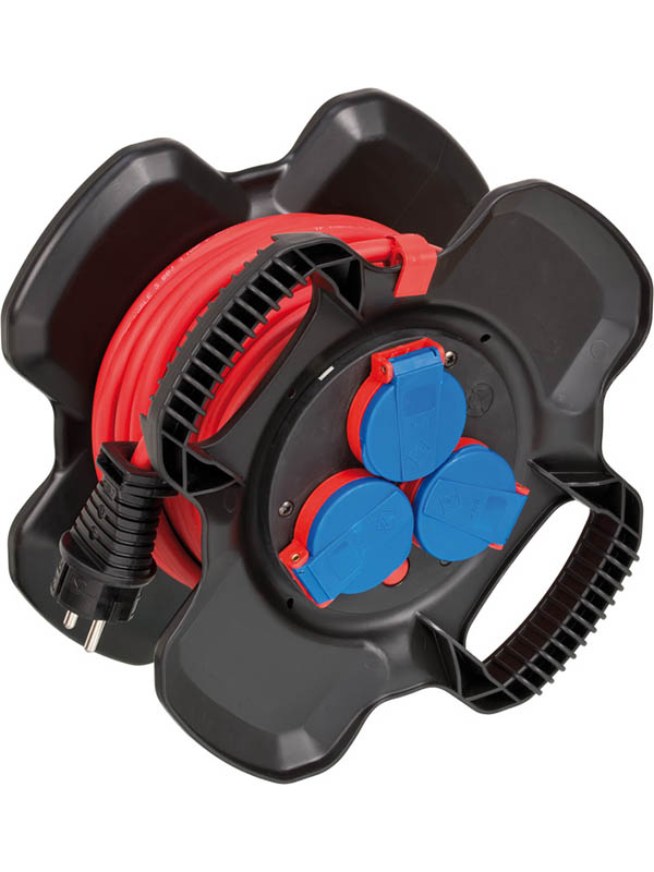 Удлинитель Brennenstuhl Compact Cable Reel 3 Sockets 10m 1169710100