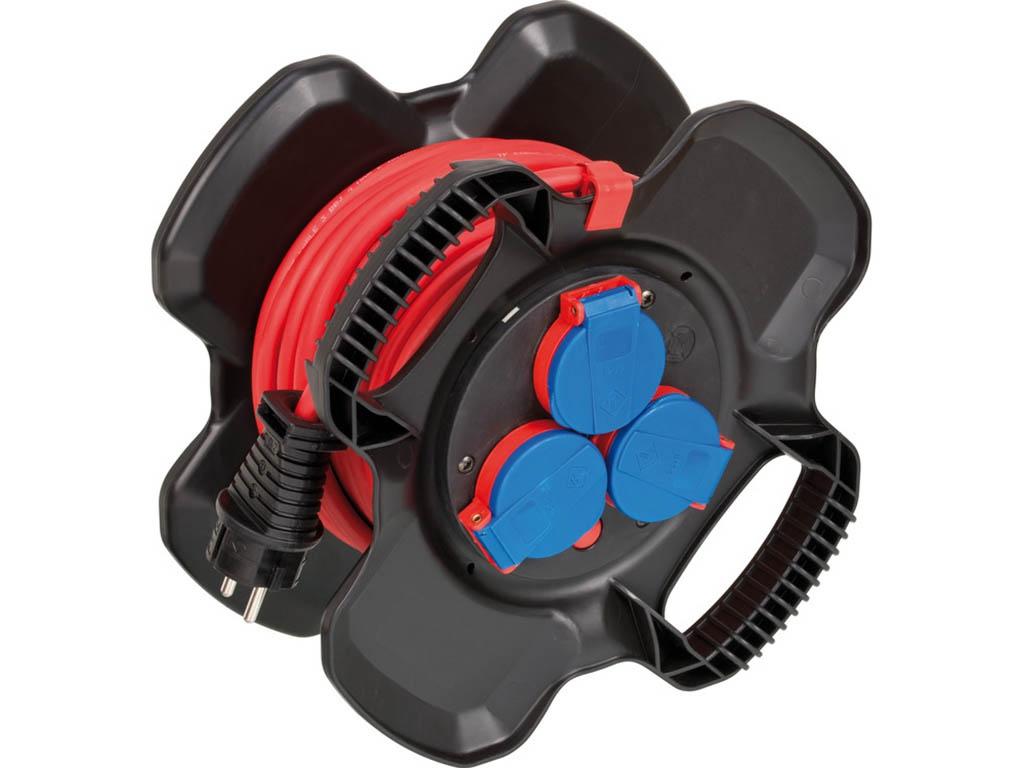 Удлинитель Brennenstuhl Compact Cable Reel 3 Sockets 10m 1169717100