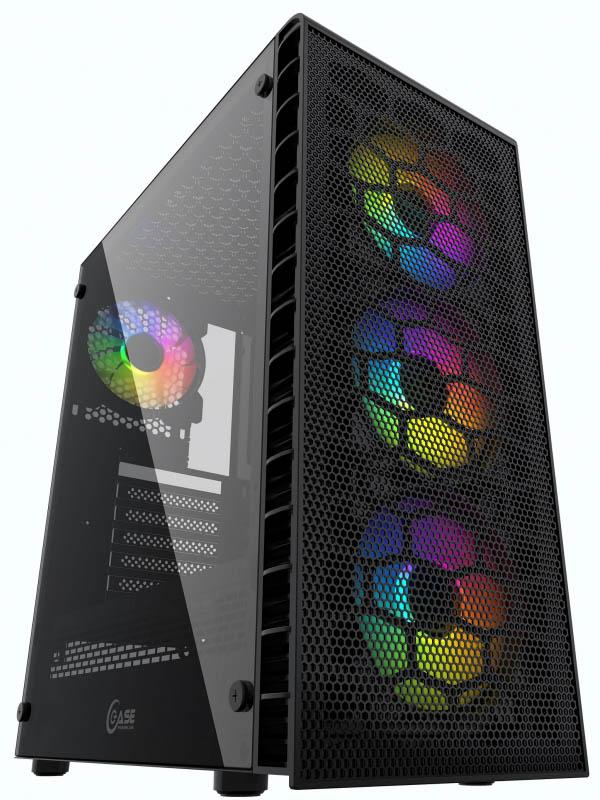 Корпус Powercase Mistral Z4C Mesh Black CMIZ4C-L4