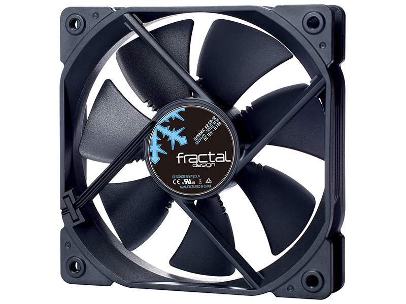 Вентилятор Fractal Design Dynamic X2 GP-12 Black 120mm FD-FAN-DYN-X2-GP12-BK