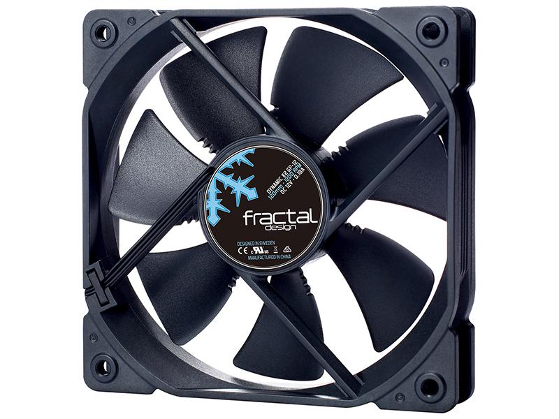 Вентилятор Fractal Design Dynamic X2 GP-12 Black 120mm FD-FAN-DYN-X2-GP12-BK