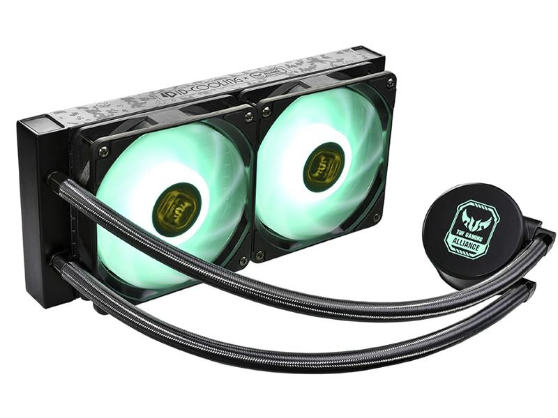 Водяное охлаждение ID-COOLING AURAFLOW X 240 TGA