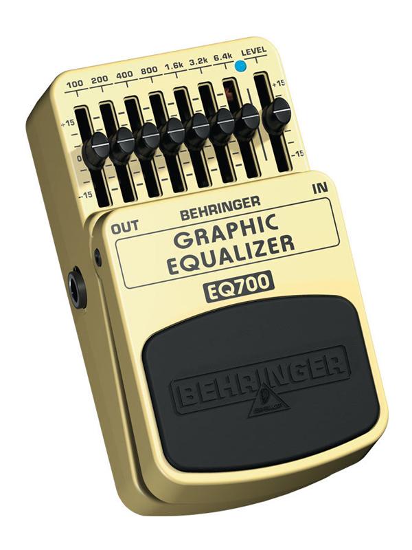 Педаль Behringer EQ700 behringer x32