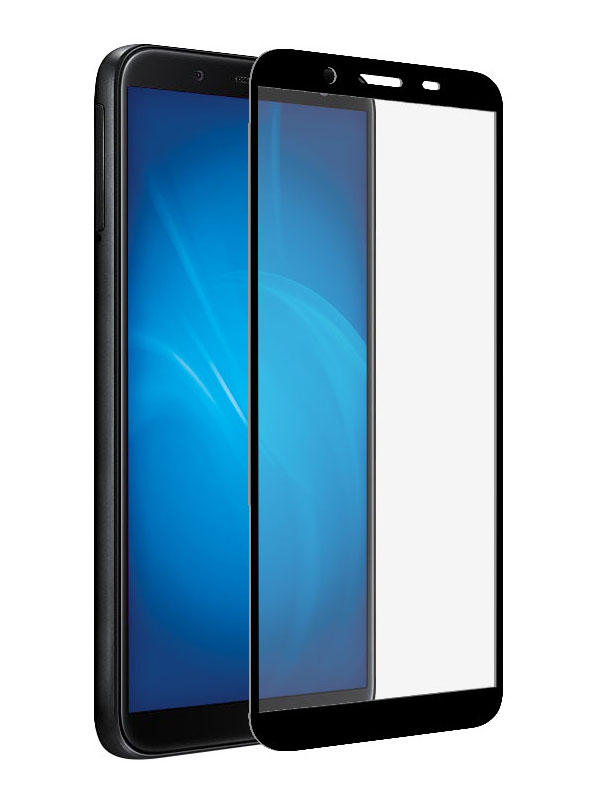 Защитное стекло Krutoff для Samsung Galaxy A01 Core / M01 Full Glue Premium Black 22834