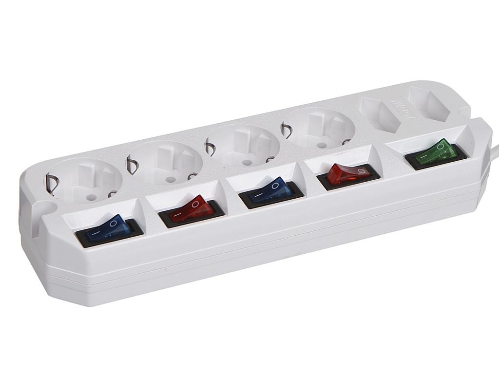Удлинитель Most A10 6 Sockets 5m White