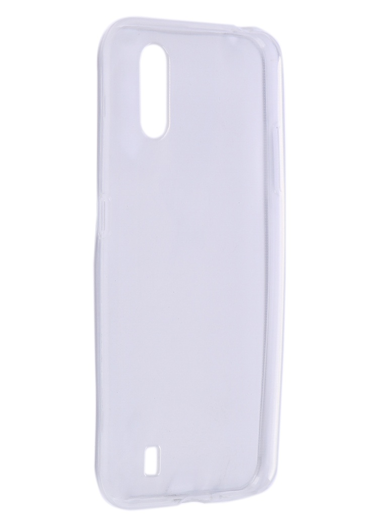 Чехол Zibelino для Samsung Galaxy M01 M015 Ultra Thin Case Transparent ZUTC-SAM-M015-WHT