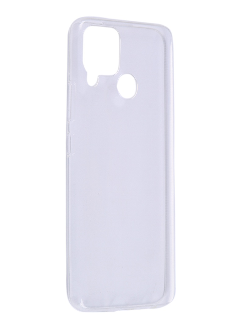 Чехол Zibelino для Realme C15 Ultra Thin Case Transparent ZUTC-RLM-C15-WHT
