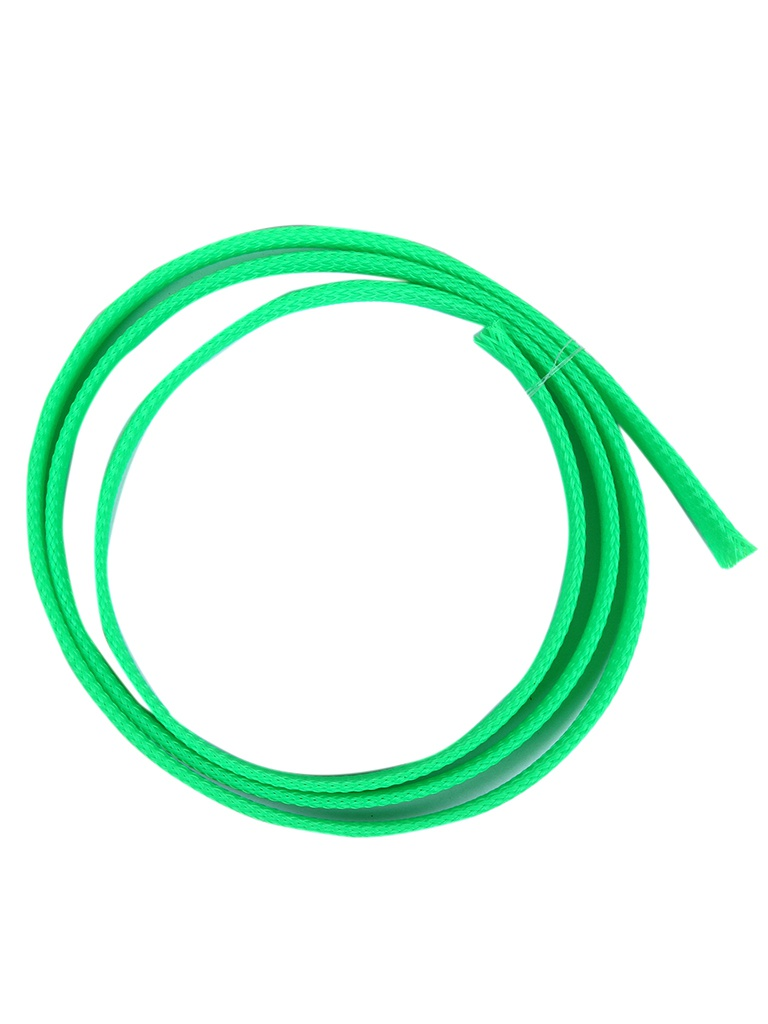 Оплётка для кабелей Phobya Flex Sleeve 10mm 1m UV Green 93031