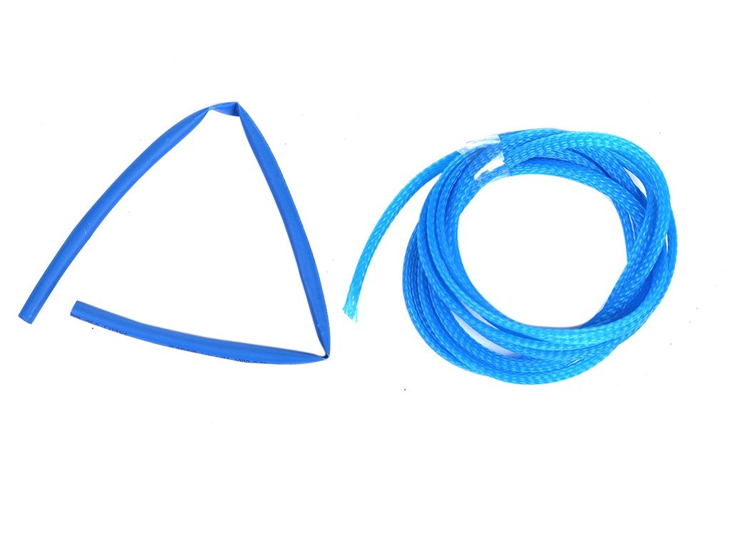 Набор Phobya Simple Sleeve Kit 6mm UV Blue 93194
