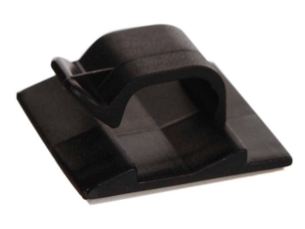 Держатель для кабелей Phobya Wire Saddle Clip 8mm Black 93130