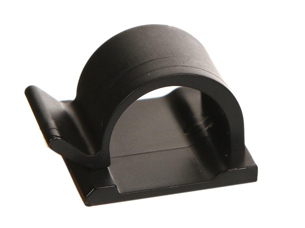 Держатель для кабелей Phobya Wire Saddle Clip Style 9/16mm Black 93134