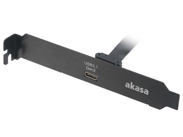 Контроллер Akasa USB 3.1 Gen2 AK-CBUB37-50BK
