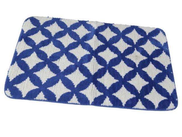 Коврик Aquarius Сетка 60x90cm Blue 66773