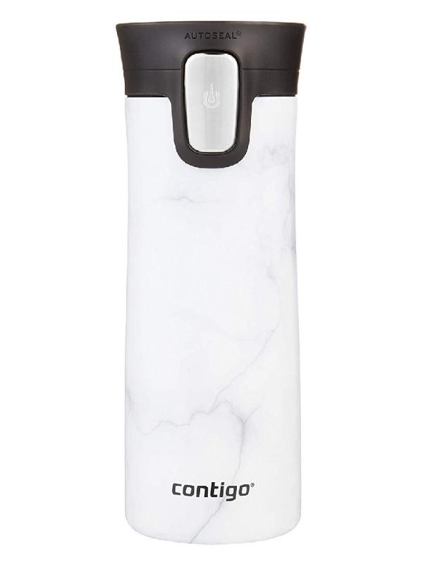 Термокружка Contigo Pinnacle Couture 420ml White Marble contigo2104543