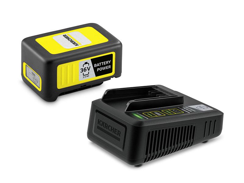 Аккумулятор + зарядное устройство Karcher Starter Kit Battery Power 36/25 2.445-064