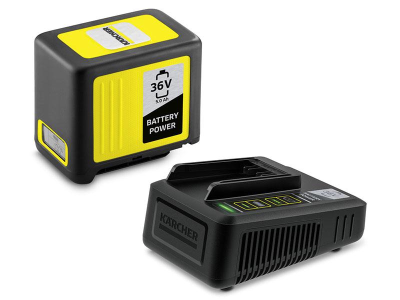 Аккумулятор + зарядное устройство Karcher Starter Kit Battery Power 36/50 2.445-065
