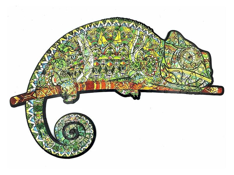 Пазл Culmo Затаившийся хамелеон 293 эл. JWP-LCHAM-L