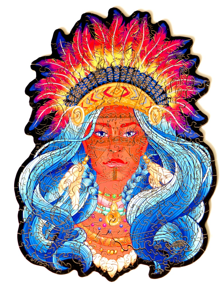 Пазл Culmo Храбрая индианка 174 эл. JWP-IBRAV-M
