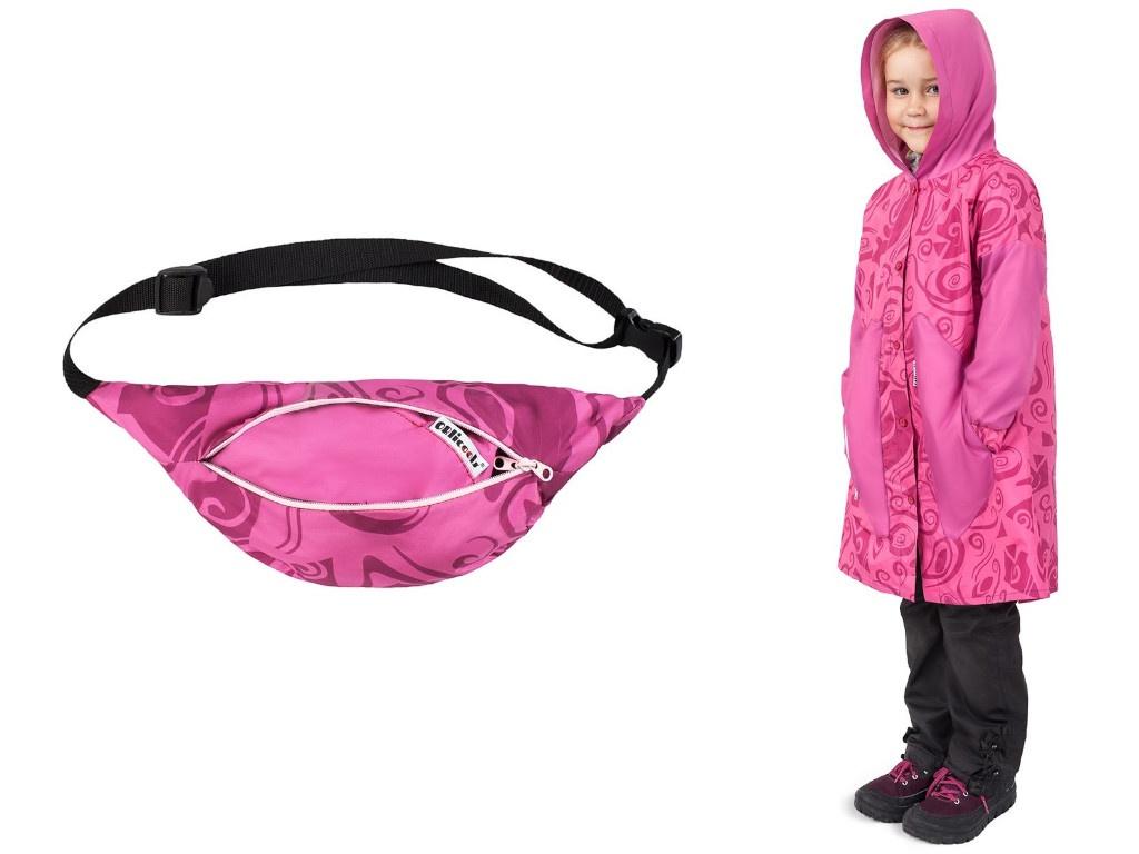 Дождевик Oblicools Pink Fog 128cm