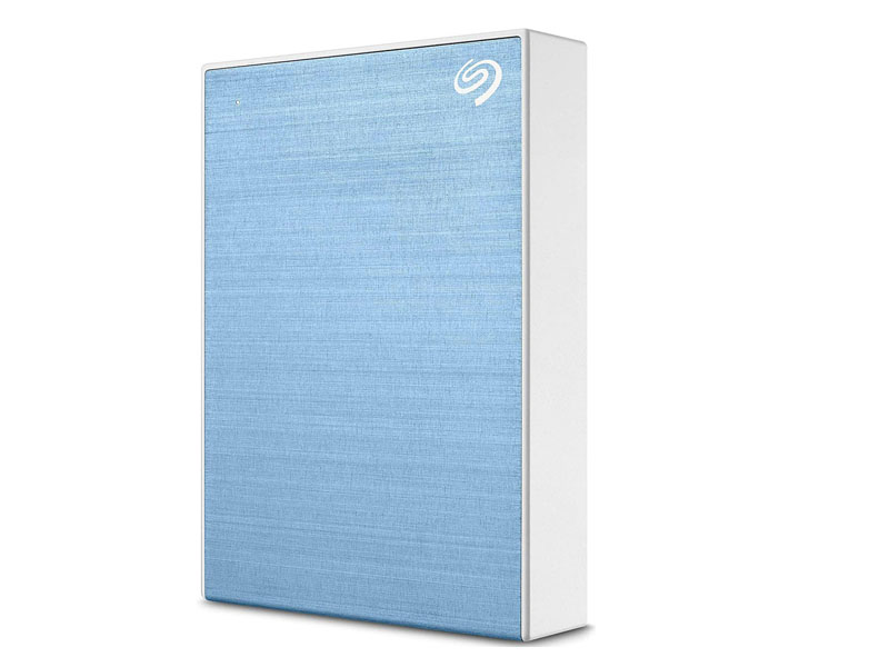 Жесткий диск Seagate One Touch Portable Drive 4Tb Light Blue STKC4000402