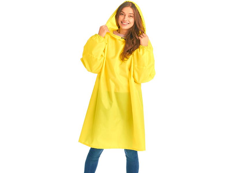 Плащ-дождевик детский Русский дождевик Артик рост 128-150cm Yellow