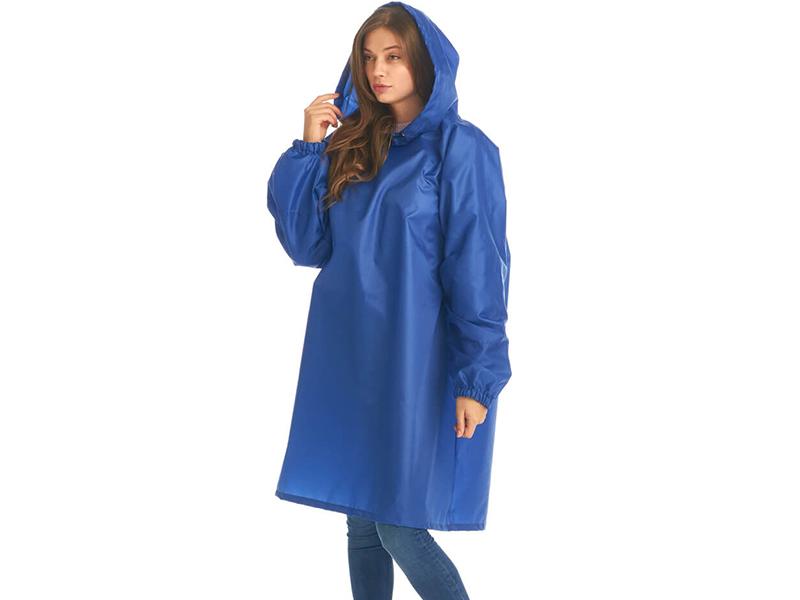 Плащ-дождевик детский Русский дождевик Артик рост 128-150cm Blue