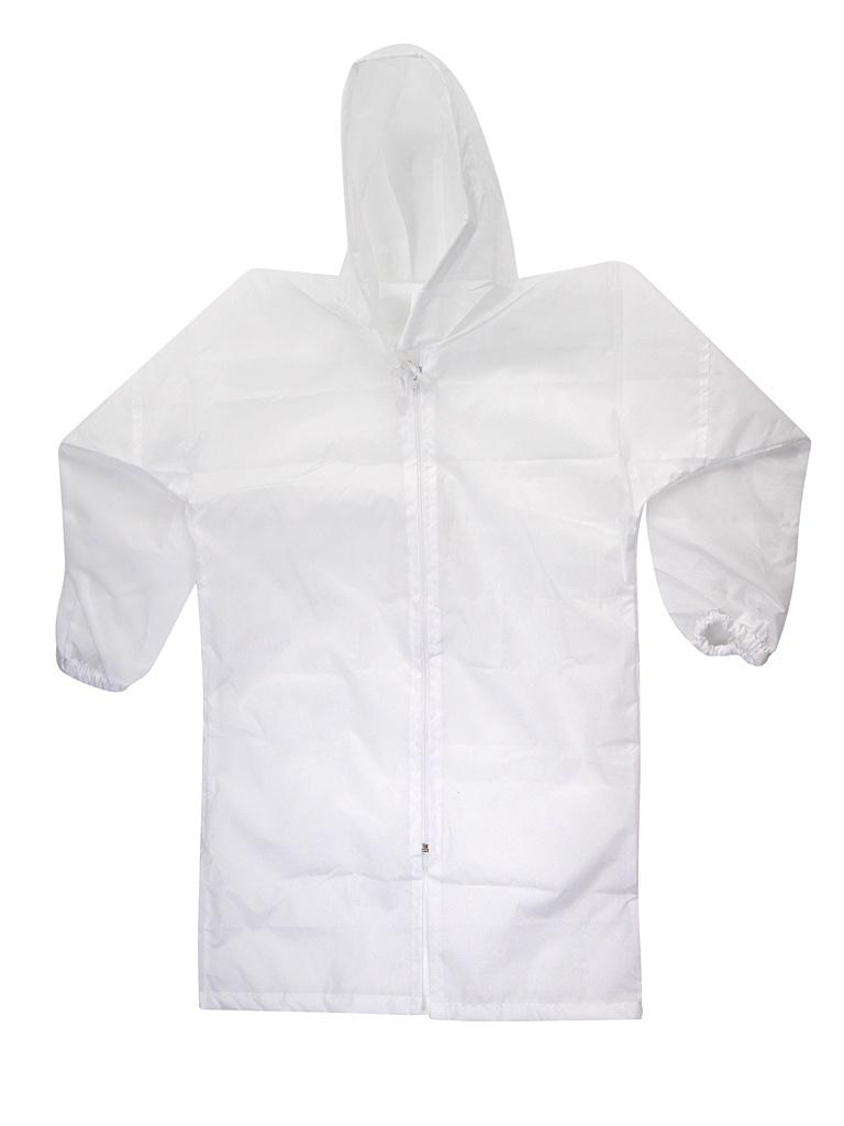 Плащ-дождевик детский Русский дождевик Ивент рост 122-134cm White