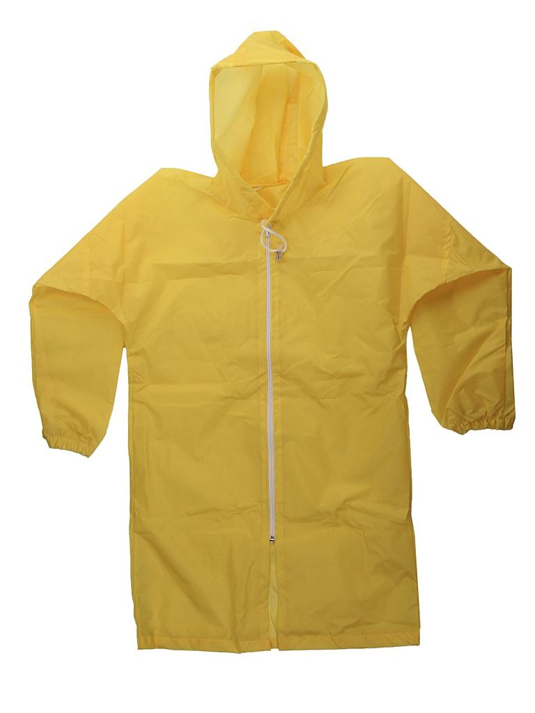 Плащ-дождевик детский Русский дождевик Ивент рост 122-134cm Yellow
