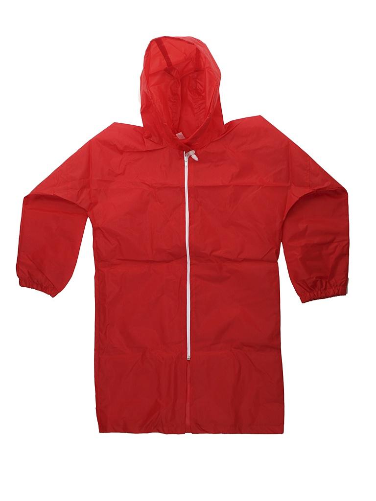 Плащ-дождевик детский Русский дождевик Ивент рост 122-134cm Red