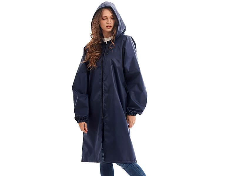 Плащ-дождевик детский Русский дождевик Ивент рост 134-150cm Dark Blue