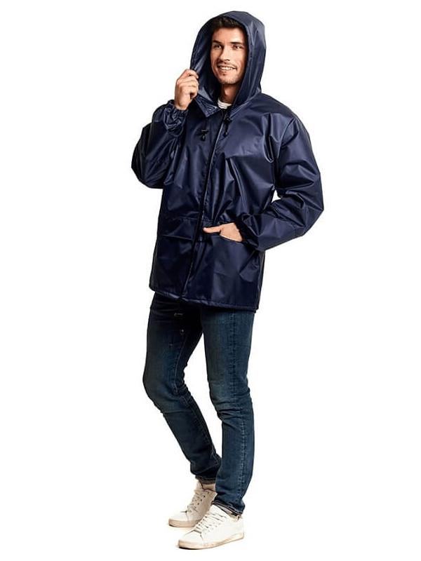 Куртка-ветровка Русский дождевик Лидер р.48-50 Dark Blue