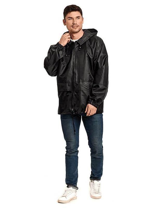 Куртка-ветровка Русский дождевик Лидер р.52-54 Black