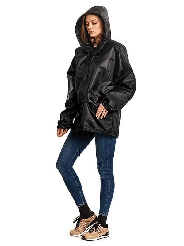 Куртка-ветровка Русский дождевик Лидер р.56-58 Black