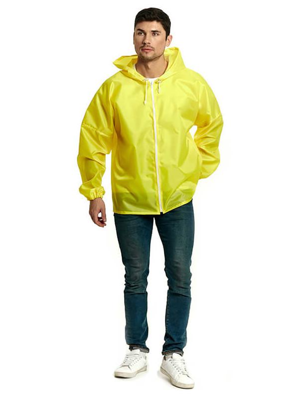 Куртка-ветровка Русский дождевик Промо р.48-50 Yellow