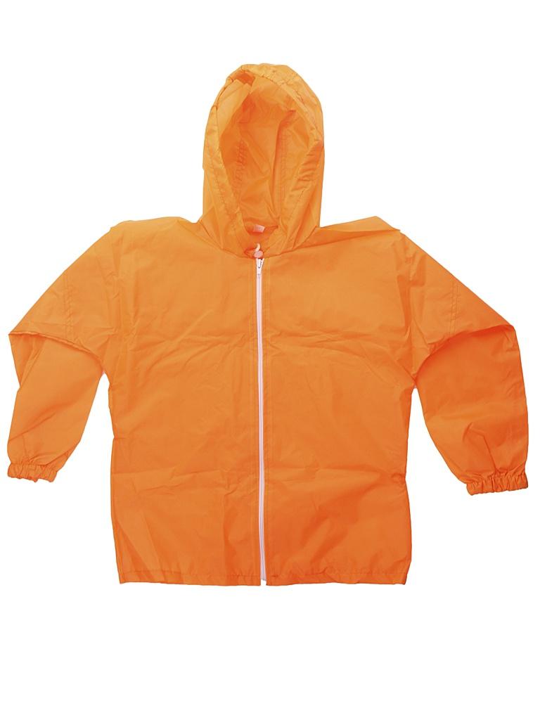 Куртка-ветровка детская Русский дождевик Промо рост 122-134cm Orange Fluor