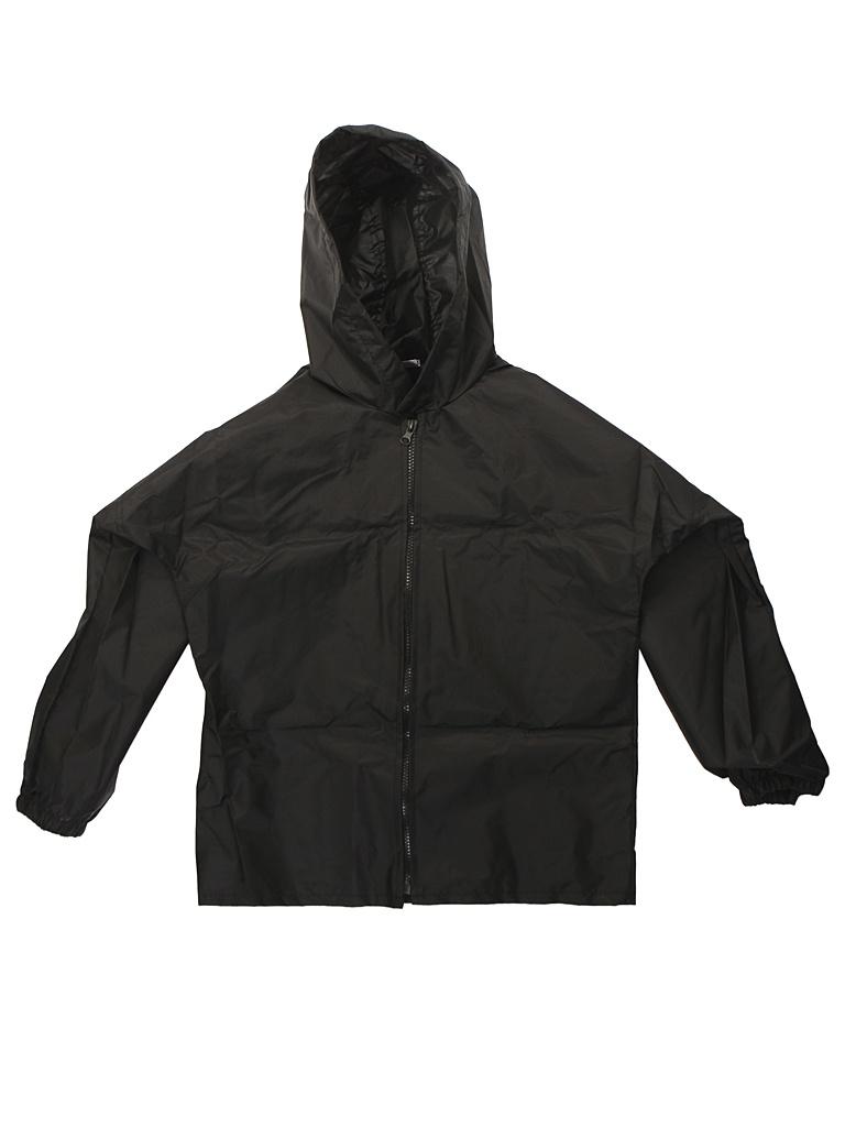 Куртка-ветровка детская Русский дождевик Промо рост 122-134cm Black