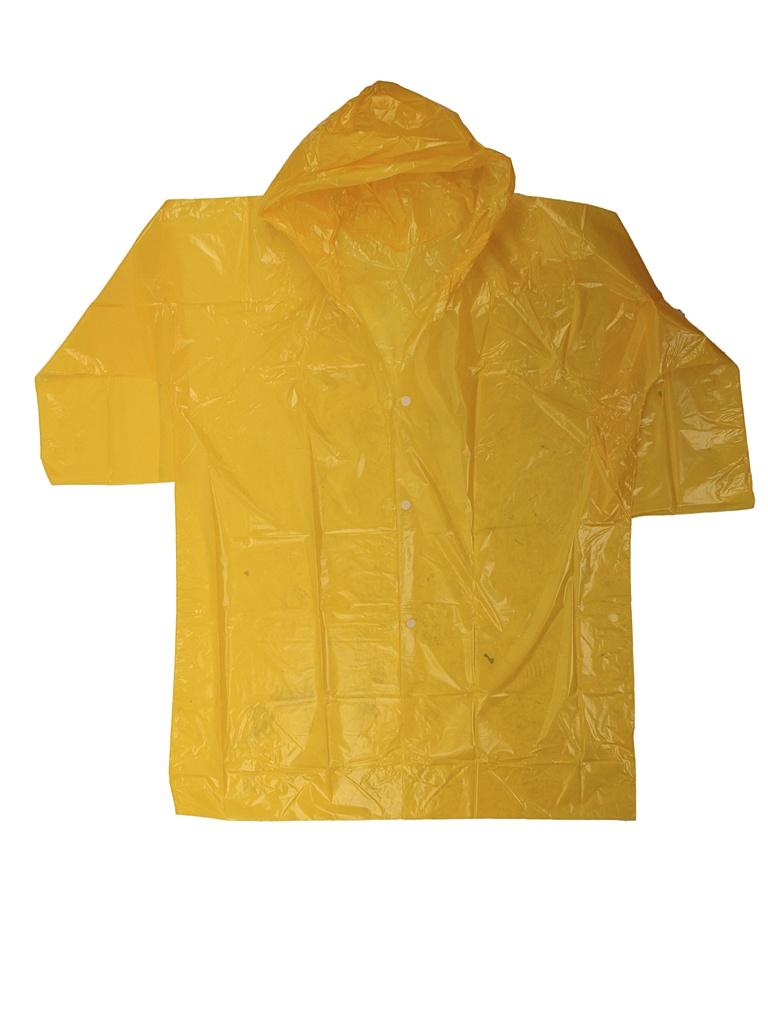 Плащ-дождевик детский Русский дождевик Стандарт 6-8 лет Yellow