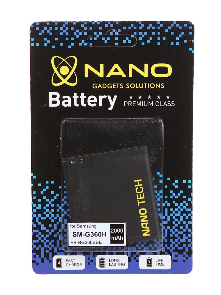 Аккумулятор Nano Original Battery для Samsung SM-G360H Galaxy Core Prime 2000mAh EB-BG360BBE