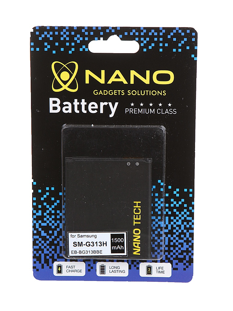 Аккумулятор Nano Original Battery для Samsung SM-G313H / SM-J105H 1500mAh EB-BG313BBE