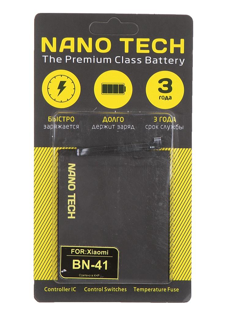 Аккумулятор Nano Original Battery для Xiaomi Redmi Note 4 4100mAh BN41
