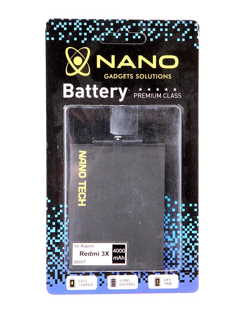 Аккумулятор Nano Original Battery для Xiaomi Redmi 3X / 3S M3 Pro 4000mAh BM47