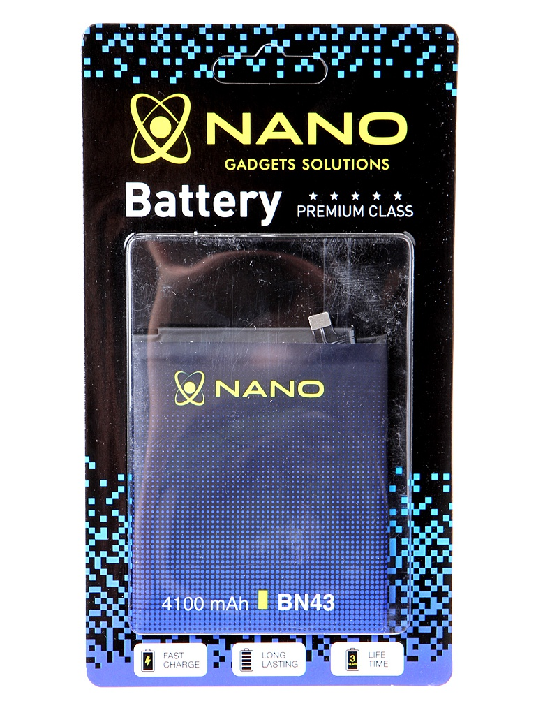 Аккумулятор Nano Original Battery для Xiaomi Redmi Note 4X 4100mAh BN43