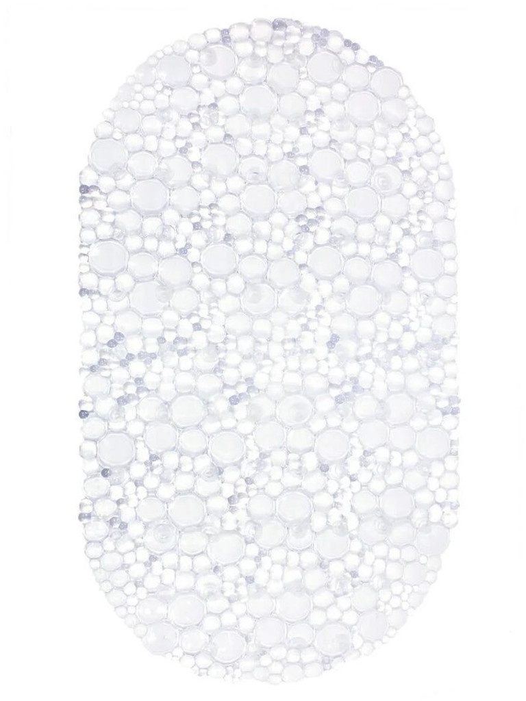 Коврик Bath Plus 67x38cm Transparent 6-101