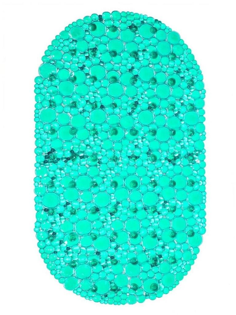 Коврик Bath Plus 67x38cm Turquoise 6-104