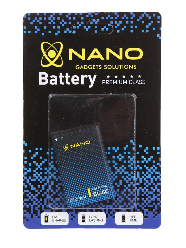 Аккумулятор Nano Original Battery для Nokia 6230 / 6630 1020mAh BL-5C