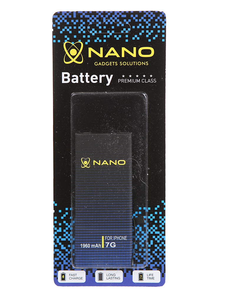 Аккумулятор Nano Original Battery для APPLE iPhone 7 1960mAh BTT-PMIG700