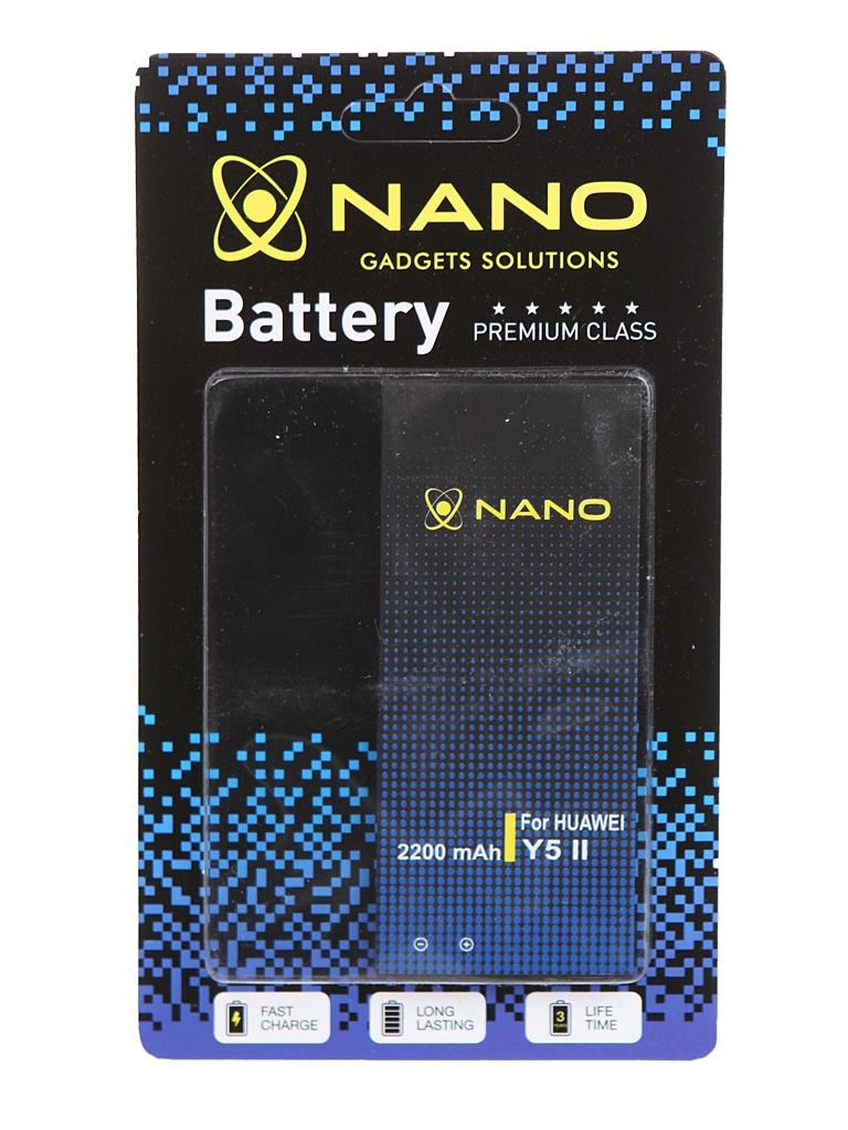 Аккумулятор Nano Original Battery для Huawei Y5 II / Y6 Honor 4A 5A 2200mAh HB4342A1RBC